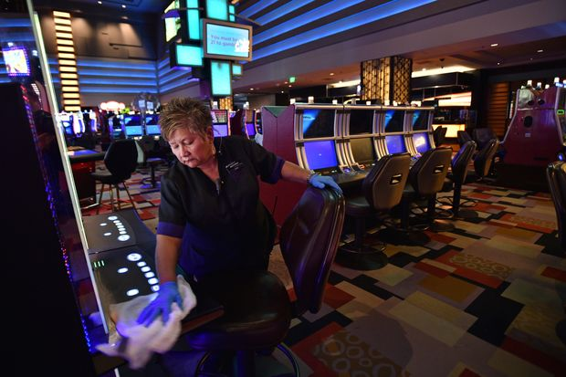 The Online Casino Cover